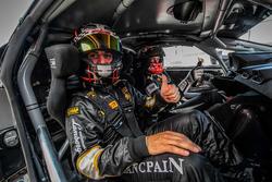 A bordo della Lamborghini Huracan GT3