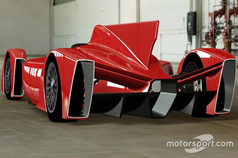 Конструкция шасси машины Формулы Е от Кена Окуямы