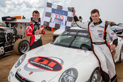 Overall winner Romain Dumas with teammate and 2nd place Time Attack #1 Raphaël Astier