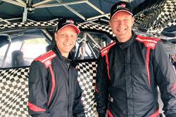 Mikko Hirvonen and Jarmo Lehtinen, Toyota Yaris WRC 2017