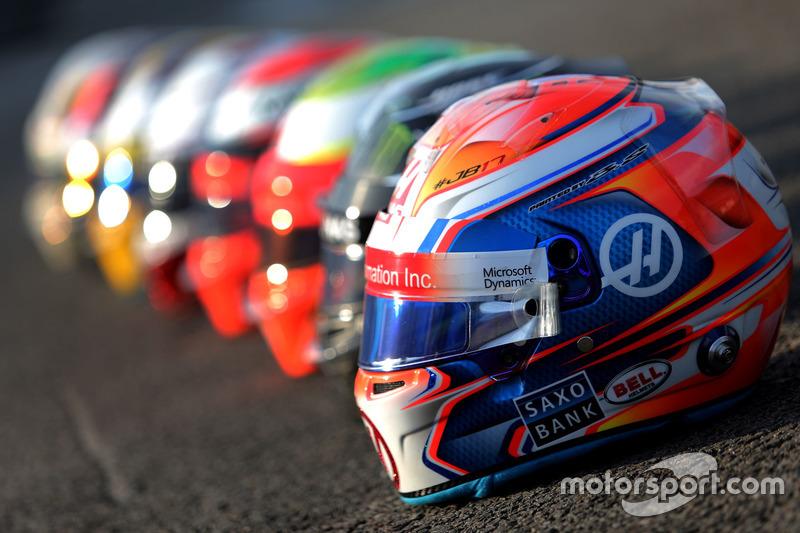 Bell Helmets, Romain Grosjean, Haas F1 Team