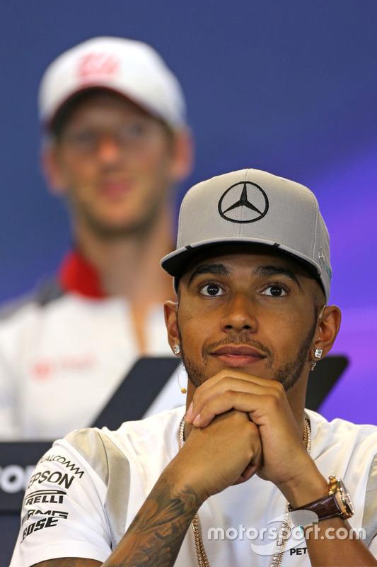Lewis Hamilton, Mercedes AMG F1 Team at FIA Press Conference