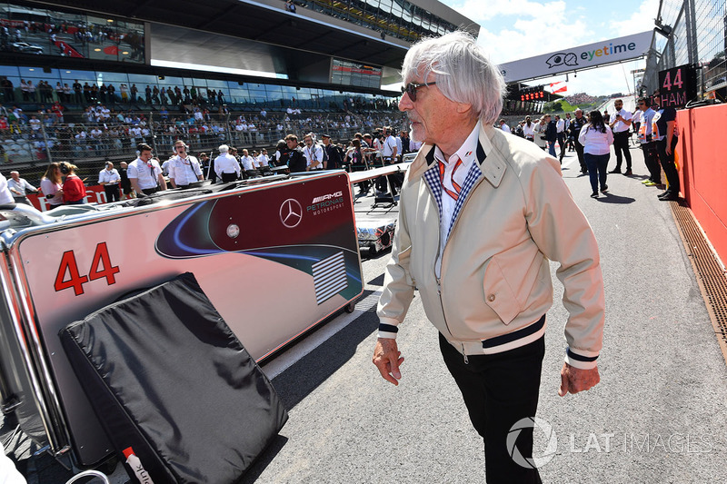 Bernie Ecclestone, Presidente emerito della Formula 1