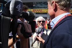 بيرني إكليستون، الرئيس الفخري للفورمولا واحد ودايفيد كولتارد