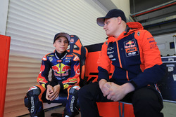 Deniz Öncü with Niklas Ajo, Red Bull KTM Ajo
