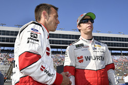 Brad Keselowski, Team Penske Ford, mit Crewchief Paul Wolfe