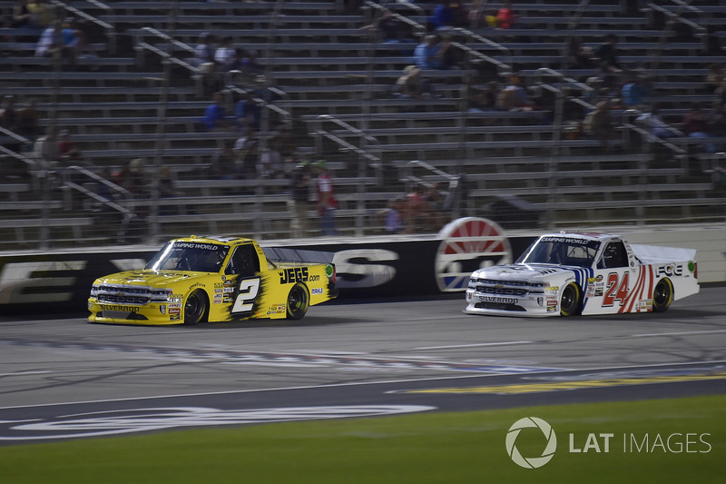 Cody Coughlin, GMS Racing, Chevrolet Silverado Jeg's.com, Justin Haley, GMS Racing, Chevrolet Silverado Fraternal Order Of Eagles