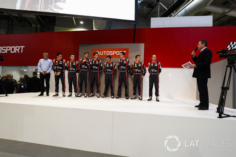 The Hyundai WRC team meet Henry Hope-Frost on the Autosport Stage