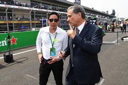 Rodrigo Sanchez, Marketing Manager Mexico GP and Alejandro Soberon, President and CEO for CIE Group and President of Formula 1 Gran Premio de Mexico