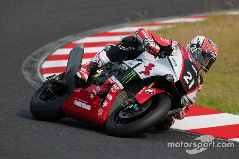 Кацуюкі Накасуга, Алекс Лоус та Міхаел ван дер Марк, Yamaha Factory Racing Team