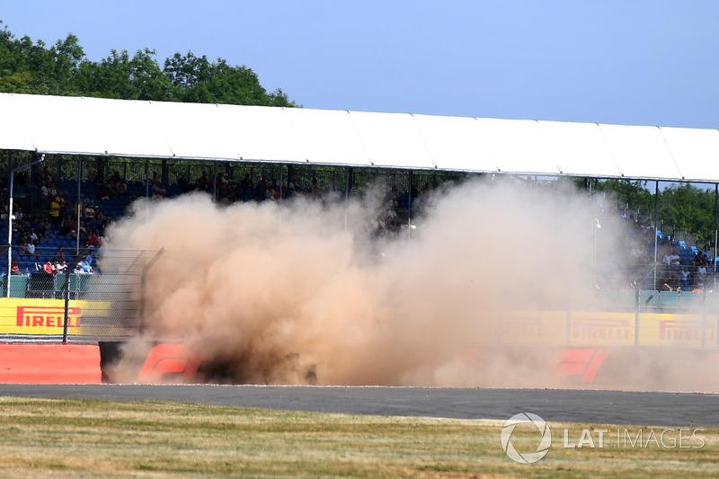 Accidente de Brendon Hartley, Scuderia Toro Rosso STR13