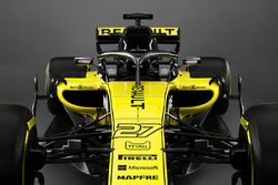 Renault F1 Team RS18 detail voorkant