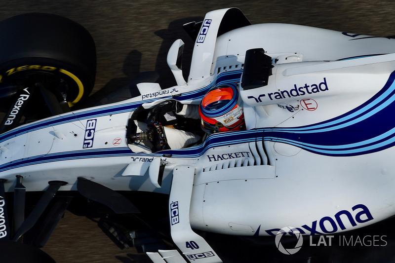 Robert Kubica au volant de la Williams FW40