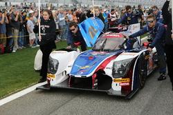 Машина #23 United Autosports Ligier LMP2: Філ Хенсон, Ландо Норріс, Фернандо Алонсо