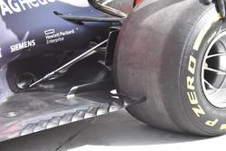 Red Bull Racing RB14 arka bölüm detay