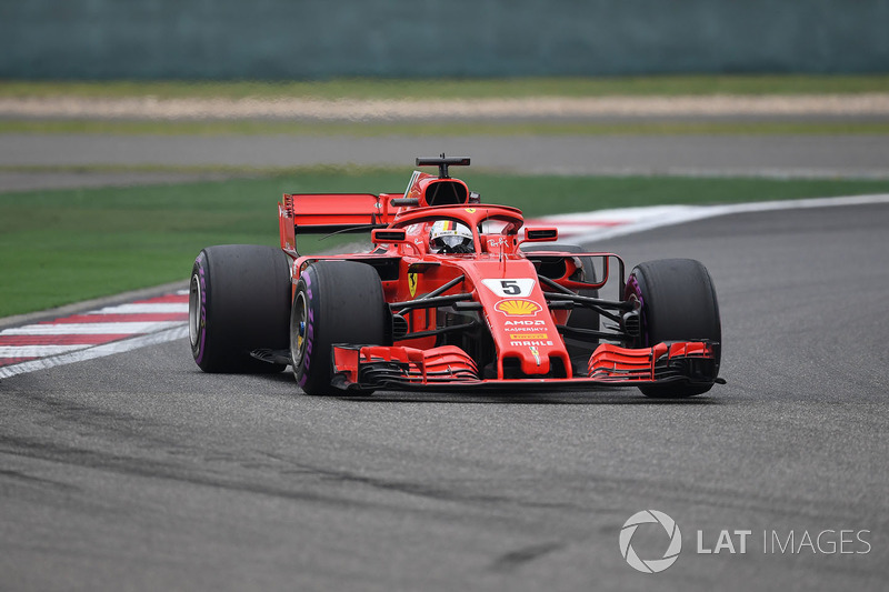 8. Sebastian Vettel, Ferrari SF71H