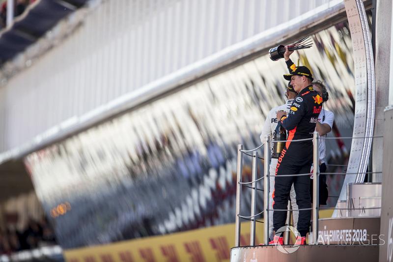 Для Red Bull Racing эта гонка стала 150-й в истории, когда ее пилот поднялся на подиум