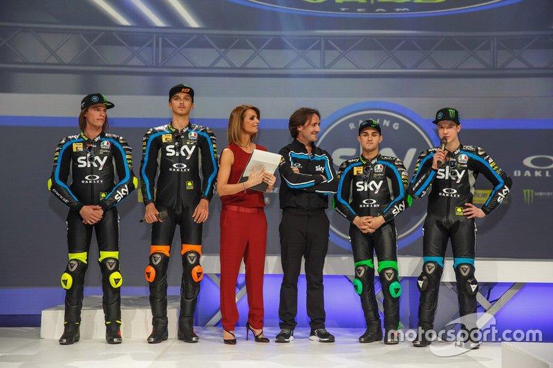 Нікола Булега, Лука Маріні, Селестіно В'єтті Рамус, Денніс Фоджа, Sky Racing Team VR46
