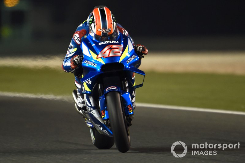 3º Alex Rins, Team Suzuki MotoGP - 1:54.593