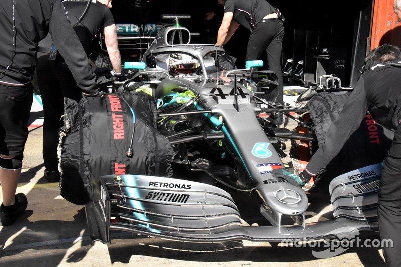 Der modifizierte Mercedes W10