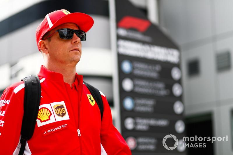 7º Kimi Raikkonen: 57 puntos (no pierde ni gana posiciones respecto a 2017)