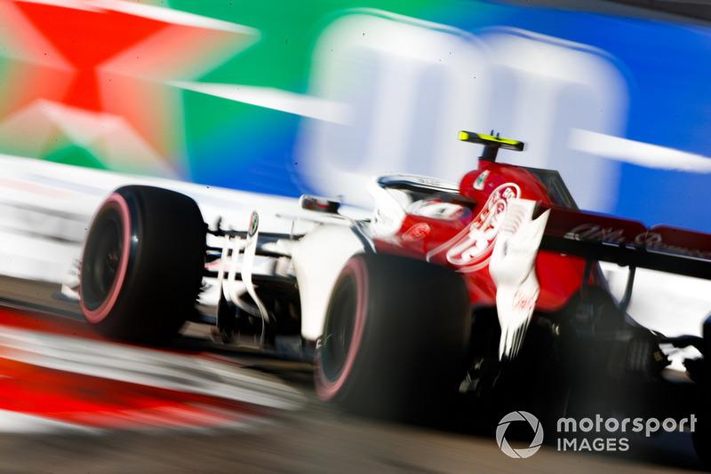 P7: Charles Leclerc, Sauber C37
