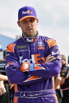 Denny Hamlin, Joe Gibbs Racing, Toyota Camry FedEx Office1