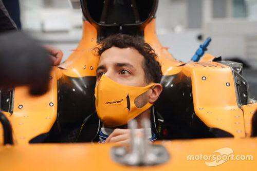 Ricciardo visita alla fabbrica McLaren