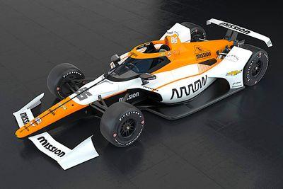 Montoya Indy 500 livery