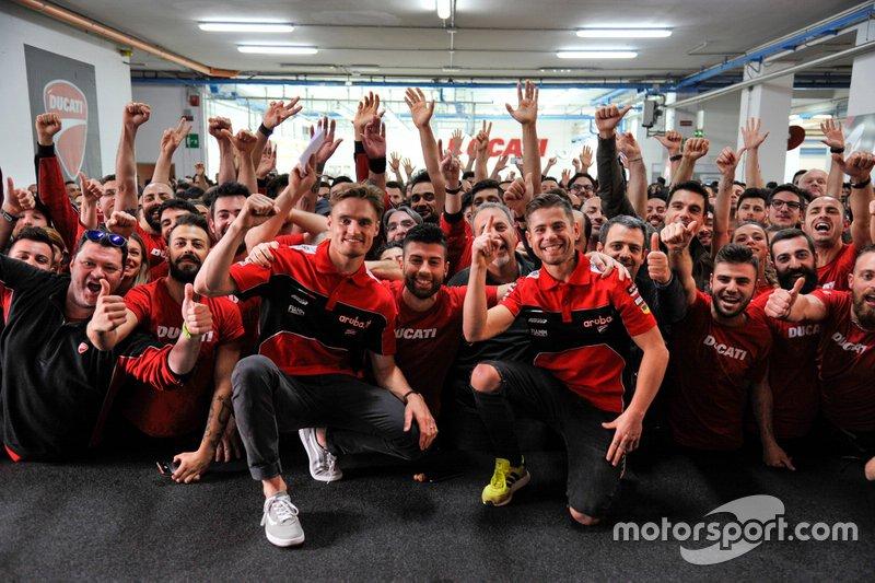 Ducati 350th wins celebrations