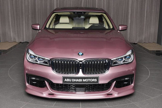 BMW 750li xDrive rosa