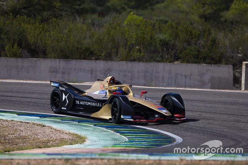 Автомобиль Формулы E команды DS Techeetah