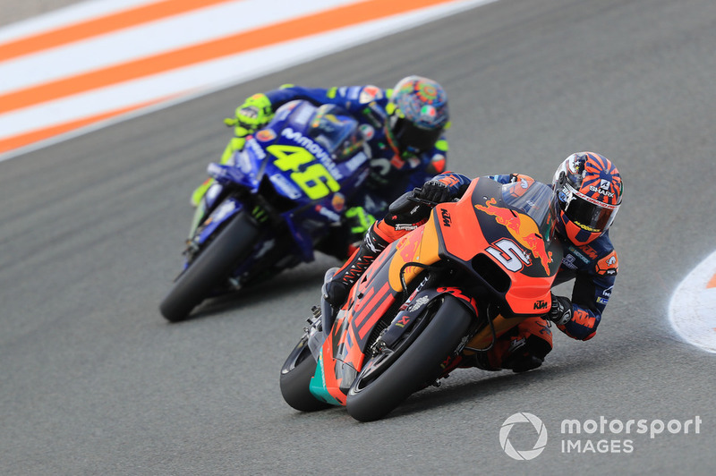 Johann Zarco, Red Bull KTM Factory Racing, Valentino Rossi, Yamaha Factory Racing