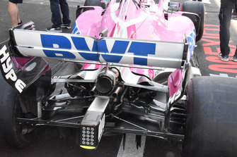 Racing Point Force India VJM11 : vue arrière