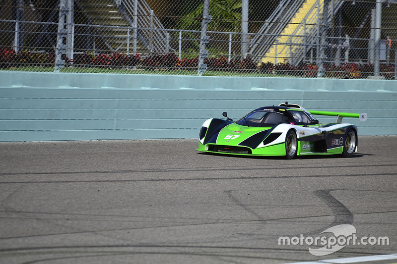 #57 FP2 Saker driven by James Cunning & Dan Moon of Saker Racing