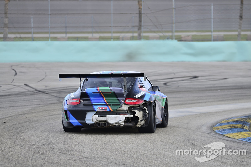 #115 MP1B Porsche 997 driven by Samin Gomez of Formula Motorsports