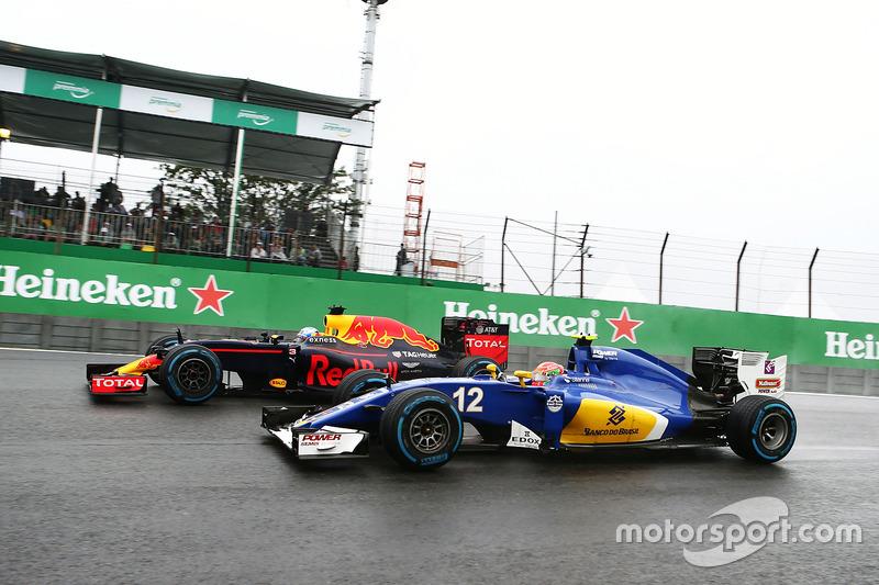 Felipe Nasr consiguió los primeros puntos para Sauber esta temporada