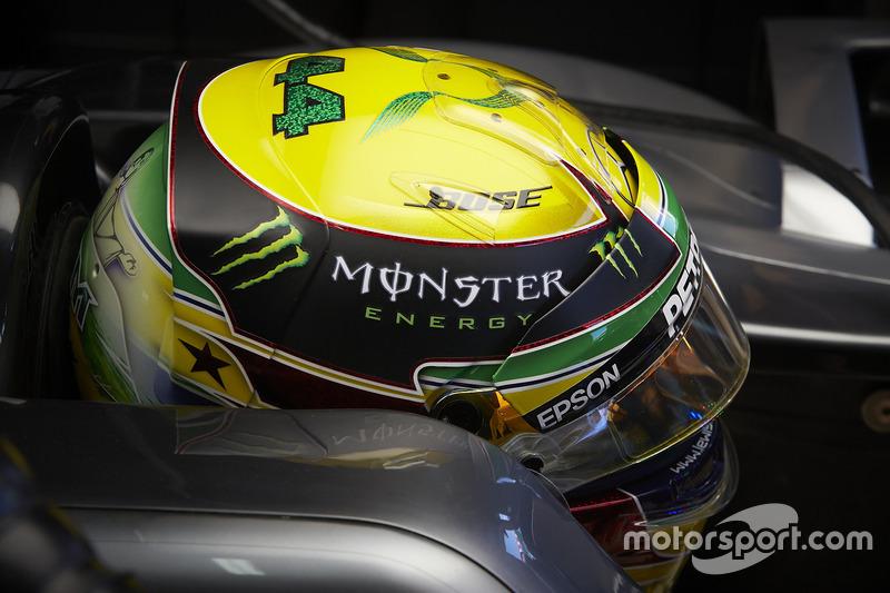 Lewis Hamilton (Ayrton Senna)