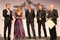 Nico Rosberg, Hermann Tomczyk, Gerhard Berger