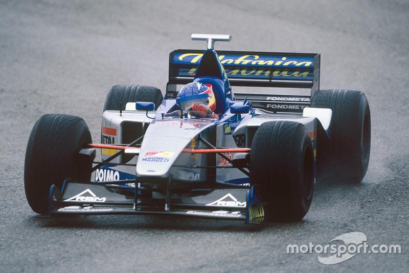 Декабрь 1999: Фернандо Алонсо. Тесты в Хересе с Minardi