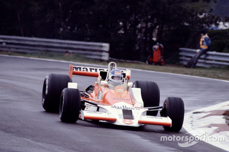 1976-1979: McLaren-Ford M26