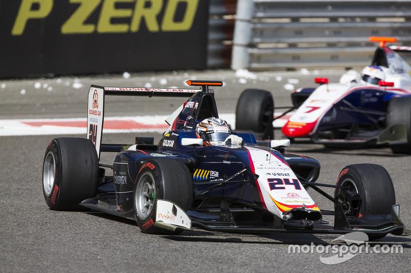 Konstantin Tereschenko, Campos Racing leads Giuliano Alesi, Trident