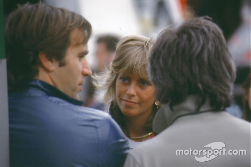 Giorgio Piola con Susy Patrese