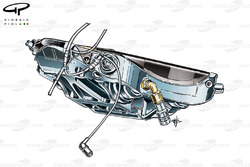 4 piston rear brake caliper
