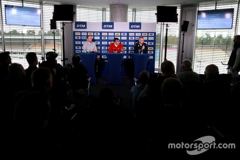 Ullrich Fritz, Team principal Mercedes-AMG HWA, Dieter Gass, Capo del DTM Audi Sport, Jens Marquardt