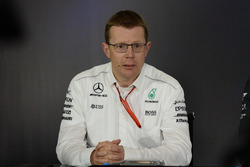 Andy Cowell, Managing Director, Mercedes AMG High Performance Powertrains nella Conferenza stampa