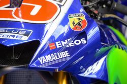 Bike detail of Maverick Viñales, Yamaha Factory Racing