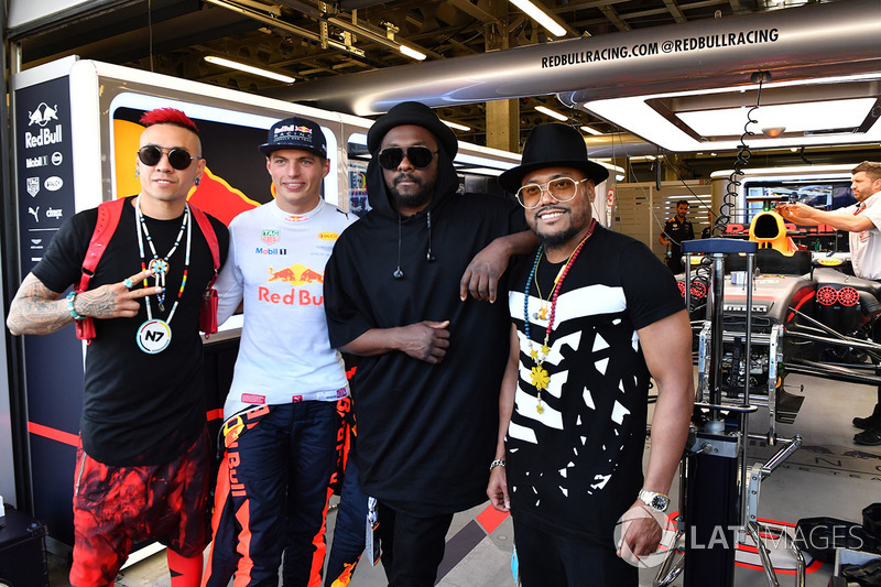 Макс Ферстаппен, Red Bull Racing, William, гурт Black Eyed Peas
