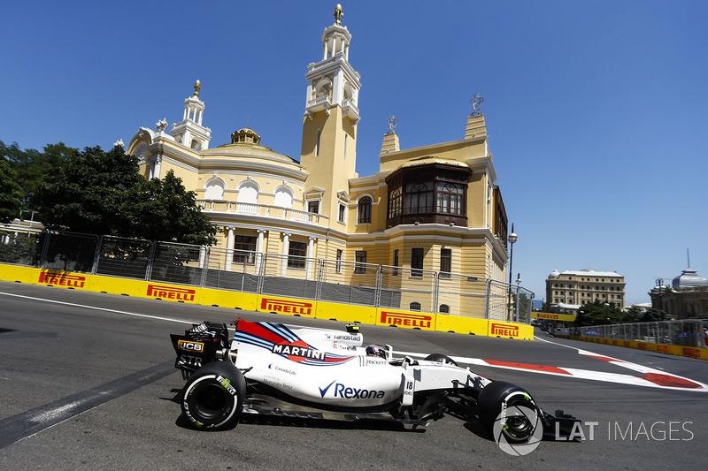 12º Lance Stroll, Williams FW40 (17 puntos)