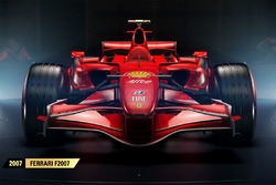La Ferrari F2007 de 2007 dans F1 2017